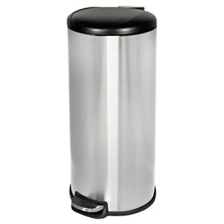 30 ltr Step Trash Can Stainless Steel - Room Essentials™