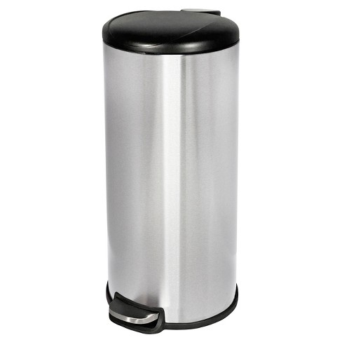 Step Open Trash Can Stainless Steel Room Essentials Target