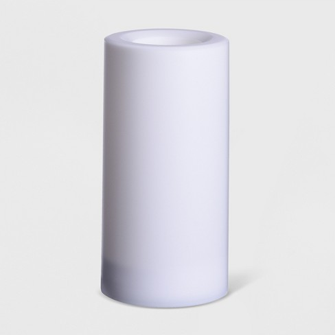 Outdoor Battery Operated LED Flameless Candle White - Project 62™ - image 1 of 2