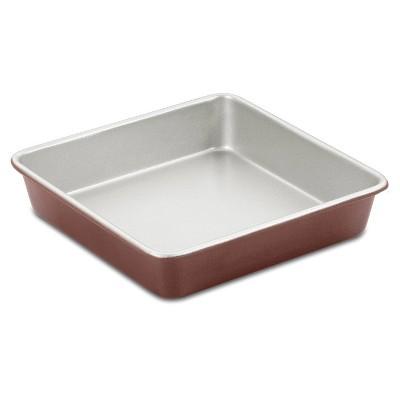 """Cuisinart Chef's Classic 9"""" Non-Stick Bronze Color Square Cake Pan - AMB-9SCKBZ"""