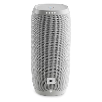 JBL Link 20 Portable Bluetooth Speaker with Google Assistant Built-in - White (JBLLINK20WHTUS)