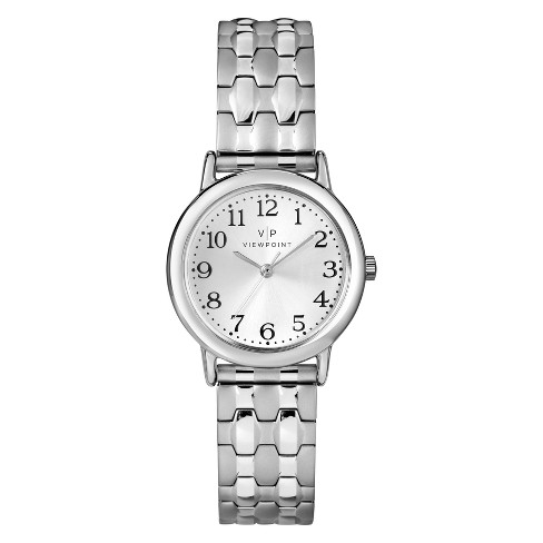 Women's Viewpoint by Timex Expansion Band Watch - Silver CC3D82900TG - image 1 of 1