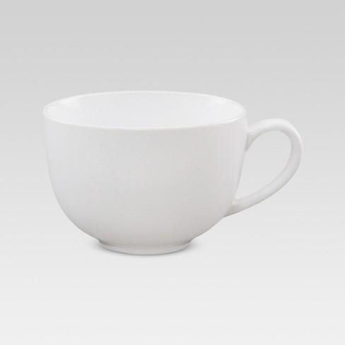 Cappuccino Mug 15.2oz - White - Threshold™ - image 1 of 2