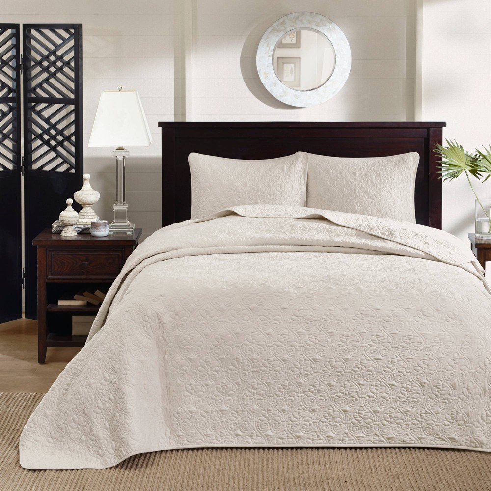 Image of Vancouver Bedspread Mini Set, Size: KING, Ivory