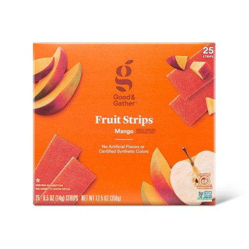 Mango Fruit Strips - 12.5oz/25ct - Good & Gather™ - image 1 of 3