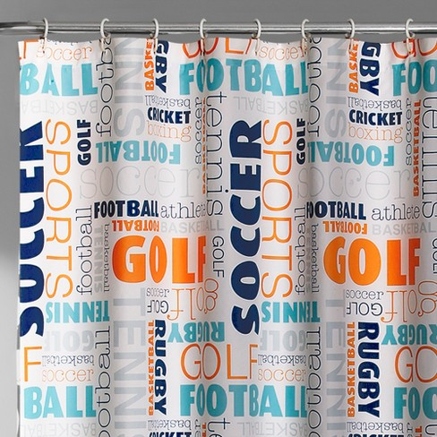 Sports Shower Curtain