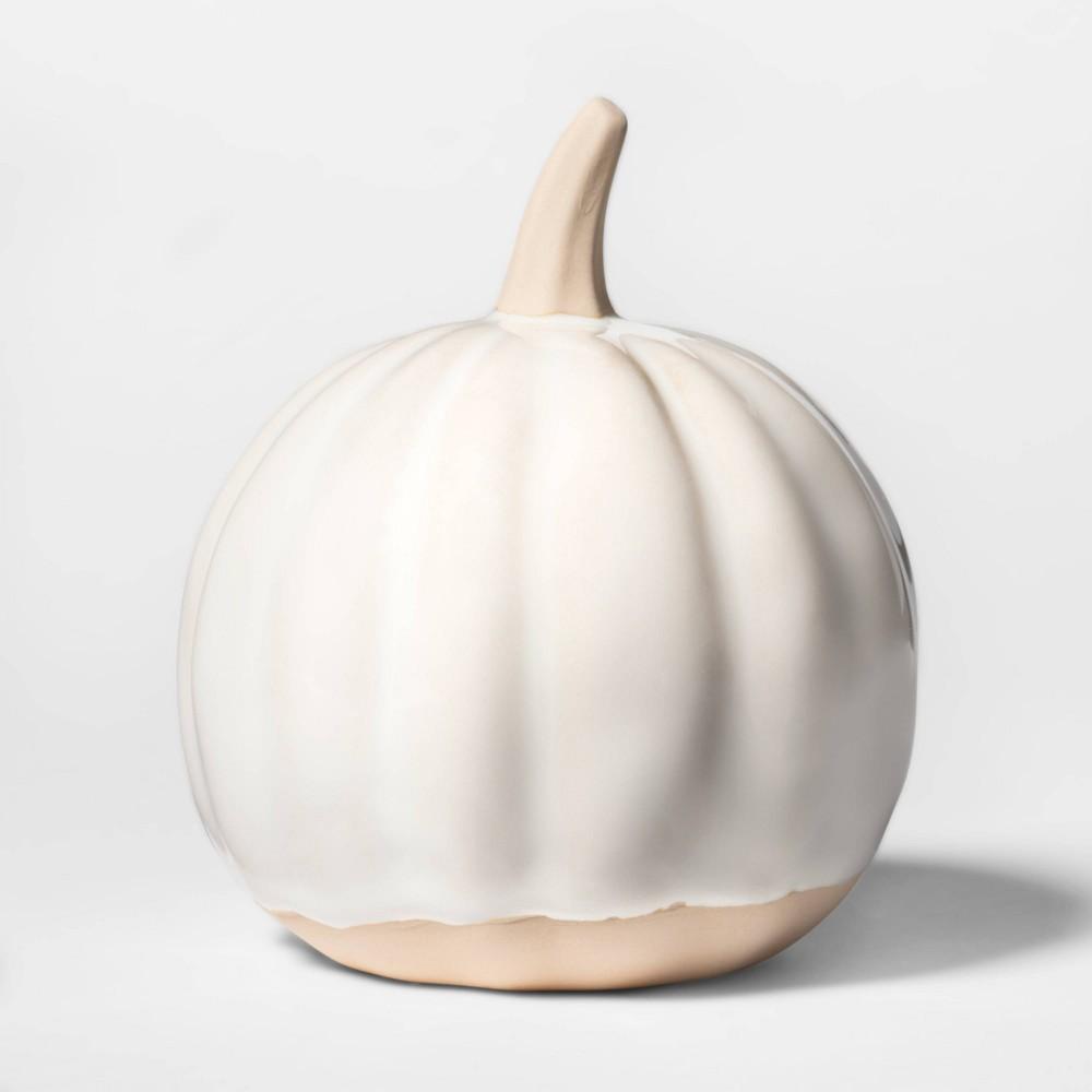 Adorable ceramic pumpkin from Target