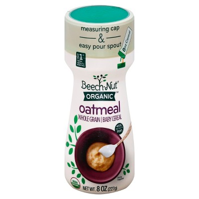 Beech-Nut Organic Cereal, Oatmeal - 8oz