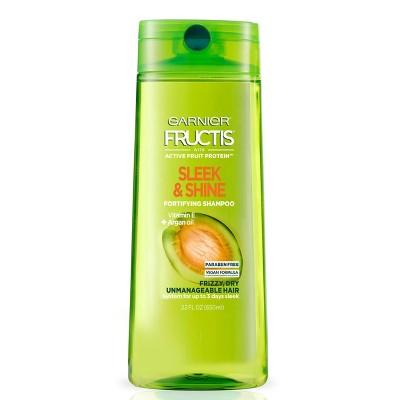 Garnier Fructis Sleek & Shine Shampoo for Frizzy, Dry, Unmanageable Hair - 22 fl oz