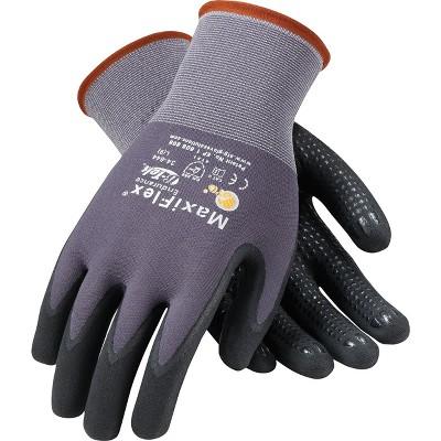 G-Tek Coated Work Gloves; MaxiFlex Endurance 34-844/M
