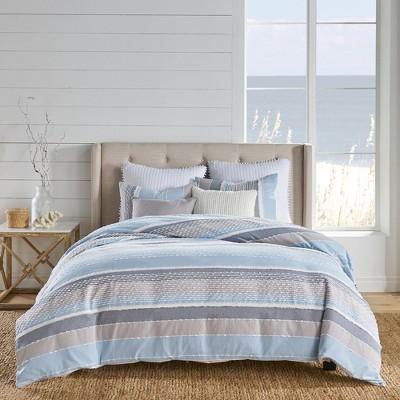 Santander Comforter Set - Blue, Grey & White - Levtex Home