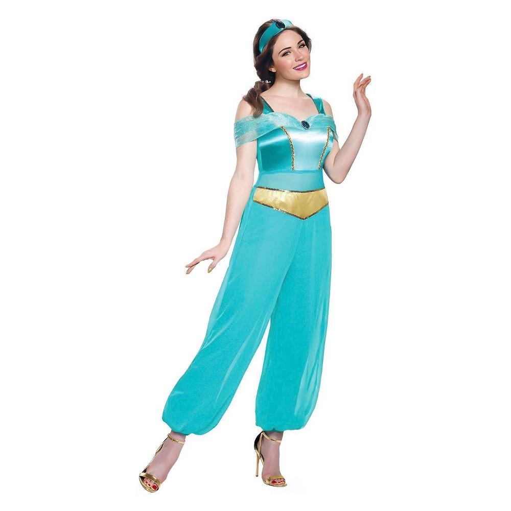Women's Disney Princess Jasmine Deluxe Costume Kit M, Multicolored
