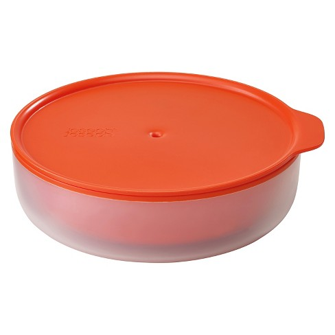 Joseph M Cuisine Microwave Cool Touch Dish Orange Stone Target