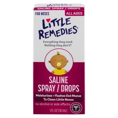 Little Remedies Saline Spray/Drops - 1 fl oz