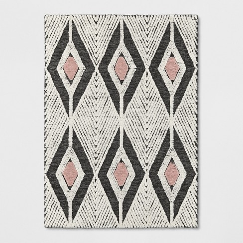 Pink/Cream/Gray Tufted Area Rug - Project 62™ - image 1 of 3