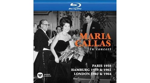 Callas Toujours Paris 1958/In Concert (Blu-ray) - image 1 of 1