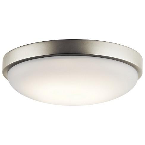 "Kichler 10763LED 1 Light 11.5"" Wide LED ADA Energy Star Flush Mount Ceiling Fixture - image 1 of 1"