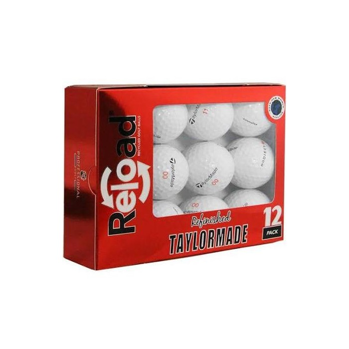 Taylormade Project (A) Refinished Golf Balls - Dozen White - image 1 of 1