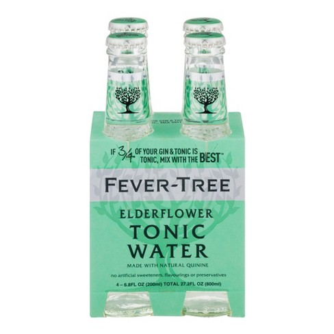 Fever Tree® Elderflower Tonic Water - 4pk / 6.8 fl oz Bottle - image 1 of 3