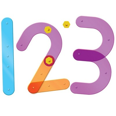 Learning Resources Number Construction, 50 Pieces, Ages 3+