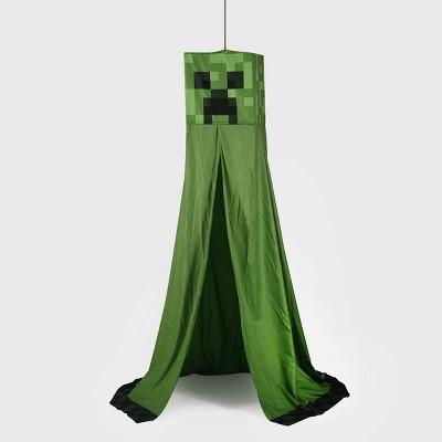 Minecraft Creeper Bed Canopy