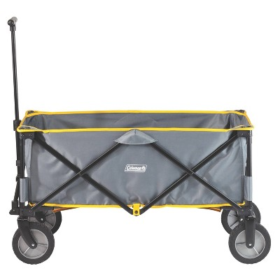 Coleman Camping Wagon with Luggage Strap - Gray