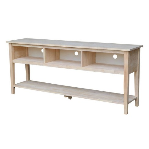 """Concepts TV Stand for TVs up to 80"""" Unfinished - International Concepts - image 1 of 4"""