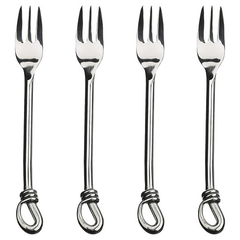 Gourmet Settings Twist 4pc Cocktail Forks - image 1 of 1