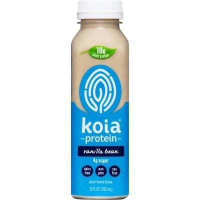Koia Vanilla Bean Plant Powered Nutrition Drink - 12 fl oz