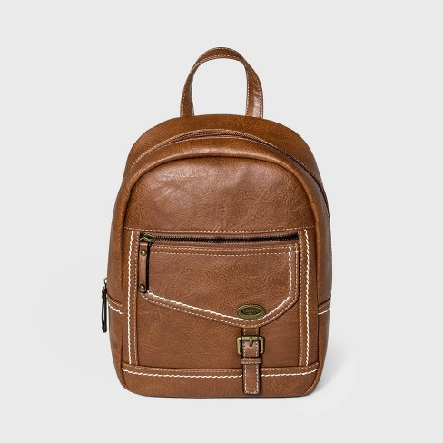Concept Zip Closure Backpack - Brown - image 1 of 4