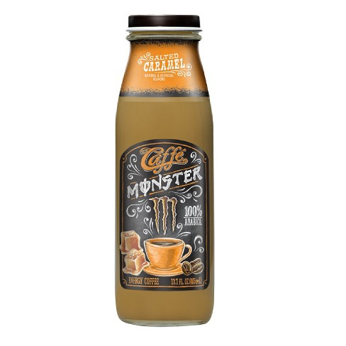 Caffe Monster, Caramel - 13.7 fl oz Glass Bottle - image 1 of 1