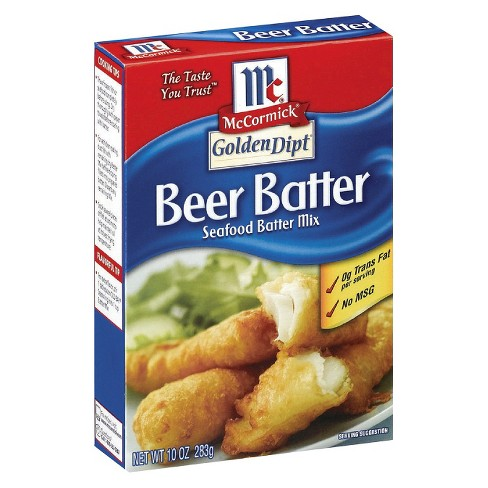 McCormick Beer Batter Seafood Mix 10 oz - image 1 of 1