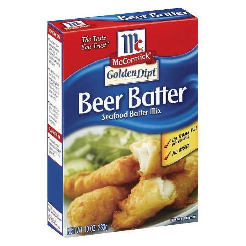 McCormick Beer Batter Seafood Mix 10 oz - image 1 of 1