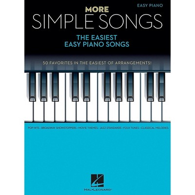 Hal Leonard More Simple Songs - The Easiest Easy Piano Songs