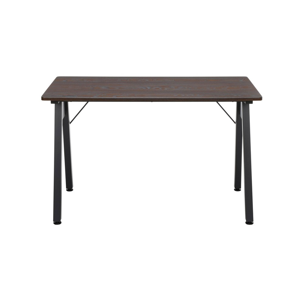 48 Table Desk Wenge Woodgrain Brown - Ofm