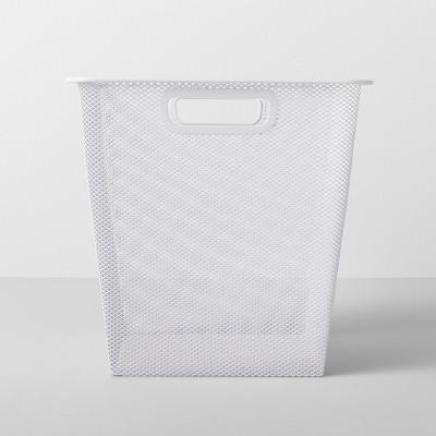 "11""X11""X11"" Medium Metal Bin White - Made By Design™"