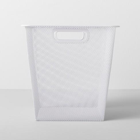 "11""X11""X11"" Medium Metal Bin White - Made By Design™ - image 1 of 4"