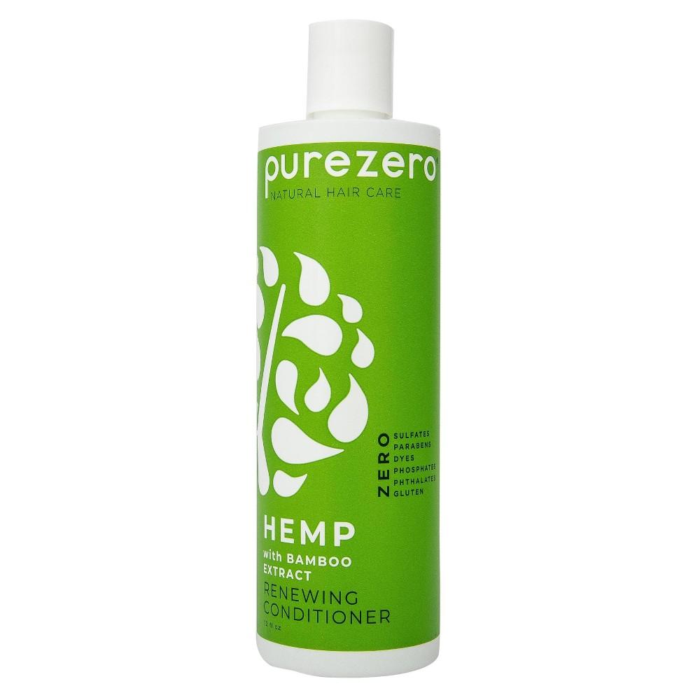 Purezero Hemp And Bamboo Renewing Conditioner 12 Fl Oz