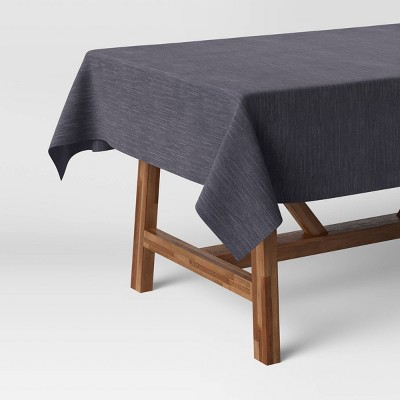 Cotton Chambray Round Tablecloth - Threshold™