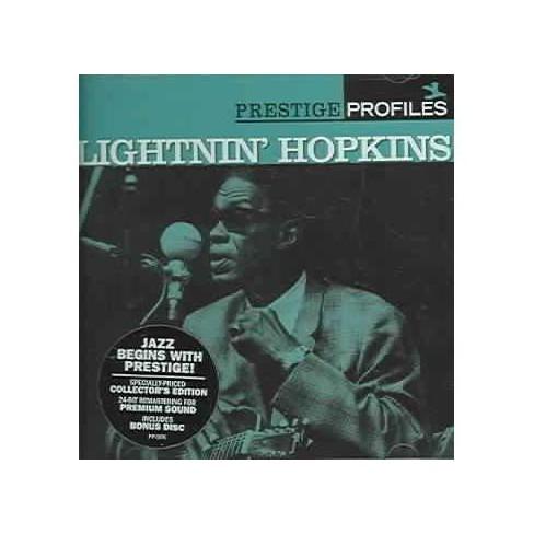 Lightnin' Hopkins - Prestige Profiles (CD) - image 1 of 1