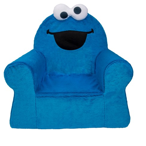 Marshmallow Comfy Chair - Cookie Monster - image 1 of 3