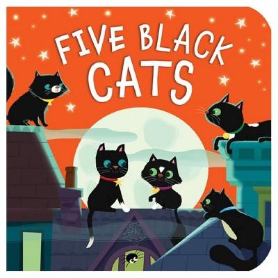 Five Black Cats (Board Book)by Julia Woolf