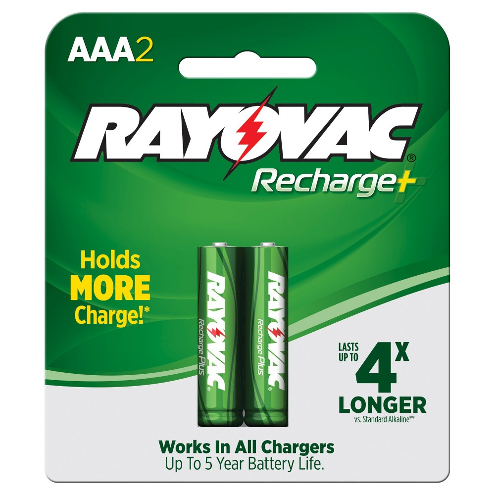 Rayovac Recharge Plus NiMH Batteries AAA 2 ct Rayovac Recharge Plus NiMH Batteries AAA 2 ct