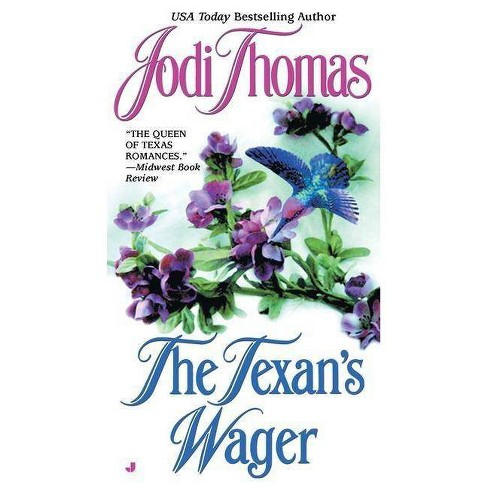 The Texan's Wager - (Wife Lottery) by  Jodi Thomas (Paperback) - image 1 of 1