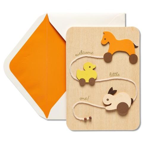 papyrus duck new baby congratulations card - Baby Congrats Card