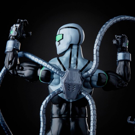 "Hasbro Marvel Legends Series 6"" Collectible Action Figure Superior Octopus image number null"
