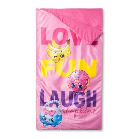 Kins Pink Sleeping Bag