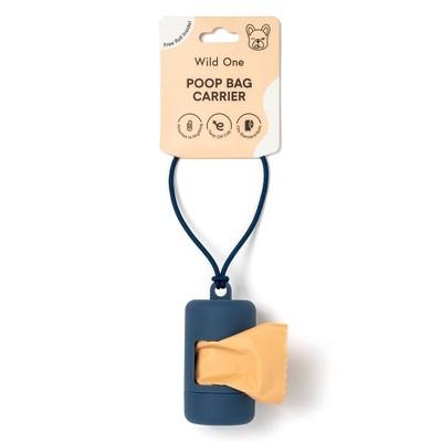 Wild One Dog Poop Bag Carrier - 10ct - Blue