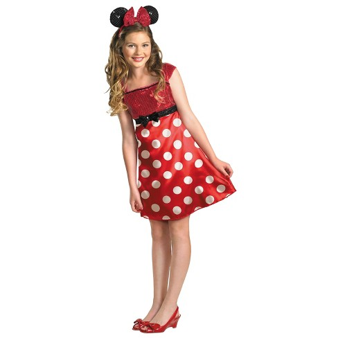Disney Mickey Mouse Clubhouse Girls' Minnie Mouse Costume - image 1 of 1
