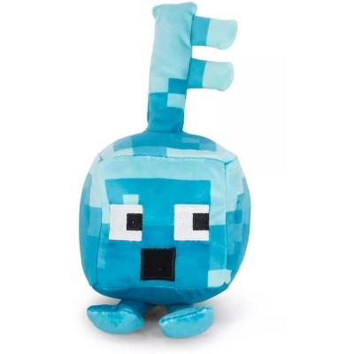JINX Inc. Minecraft Dungeons Mini Crafter 4.5 Inch Plush | Diamond Surprised Key Golem